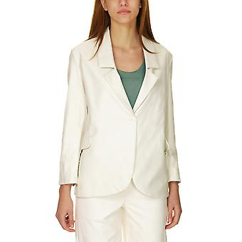 Dixie Women's Faux Leather Blazer