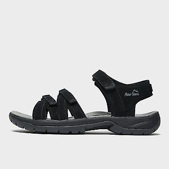 New Peter Storm Women's Whitesands Sandals Black