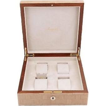 Rapport London Watch Box Heritage Bamboo 4 L405
