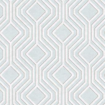 Opus Geometric Sequins Wallpaper Soft Teal Holden Decor 35562