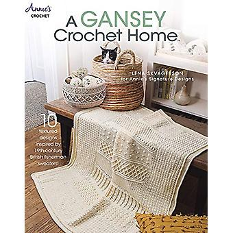 A Gansey Crochet Home - 10 Textured Designs Inspired by 19th-Century B
