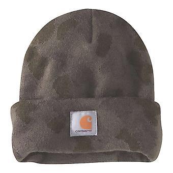 Carhartt Mens Camo Watch Beanie Hat