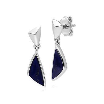 Micro Statement Lapis Lazuli Drop korvakorut 925 Sterling Silver 270E029502925