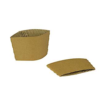 Vegware Compostable Large Cup Sleeves 10-20oz