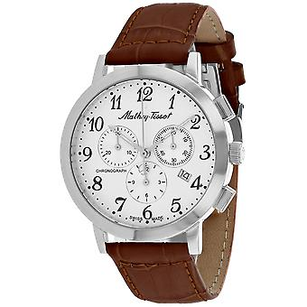 Mathey Tissot Men's Classic White Dial Watch - H9315CHALG