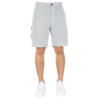 Ma.strum Mas2320m018 Men's Grey Nylon Shorts