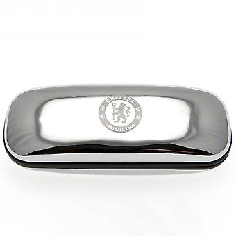 Chelsea FC Chrome Glasses Case