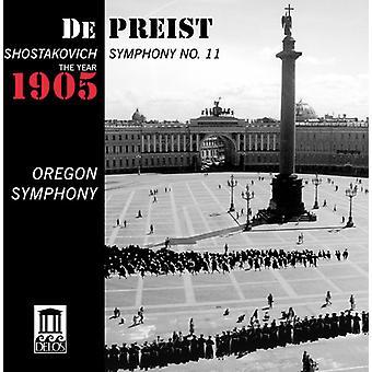 D. Shostakovich - Shostakovich: Symphony No. 11 the Year 1905 [CD] USA import