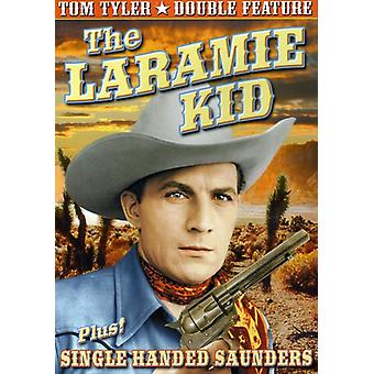 Tom Tyler - Laramie Kid (1935) / Single Handed Saunders (1932) [DVD] USA import