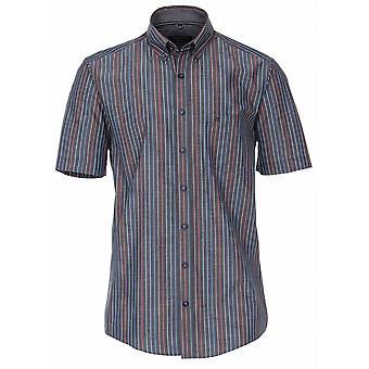 CASA MODA Casa Moda Pinstripe Short Sleeve Shirt