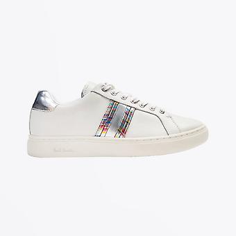 Paul Smith  - Leather Stripe 'Lapin' Trainers - White