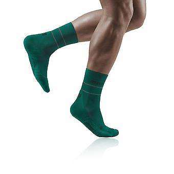 CEP Reflective Compression Mid Cut Women's Socks - AW21