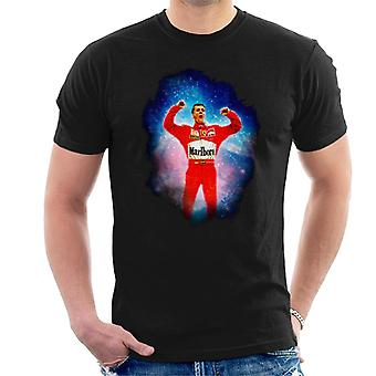 Motorsport kuvia Michael Schumacher Unkarin Grand Prix voittaa miesten ' s T-paita