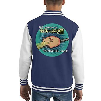 Monorail Cat Kid ' s Varsity jacka