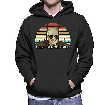 Mejor Bernie Ever Men's Sudadera con capucha