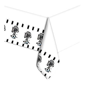 Zebra Soccer 18cm Papierowe talerze imprezowe