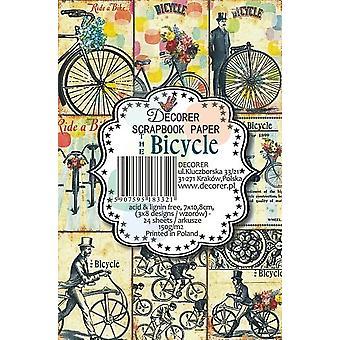 Pads en papier vélo Decorer (7x10.8cm) (M35)