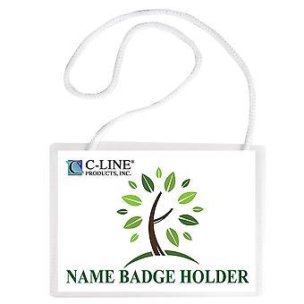 97043, Kit de porte-badge biodégradable, 4 x 3, 50/BX, 97043