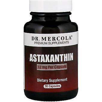 Dr. Mercola, Astaxantin, 12 mg, 30 Kapslar