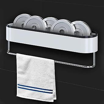 Wall-mounted Storage Racks - Towel Bath Organizer For Kitchen Bathroom