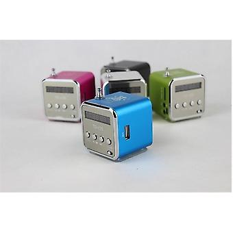 Digital Aluminum Internet Radio FM Receiver SD USB Play Stereo Altavoz Mini Speaker FM Radio