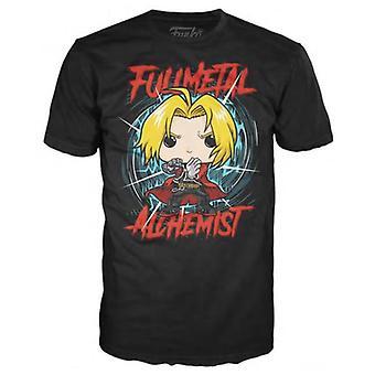 Funko T-Shirt - Vollmetall Alchemist - groß