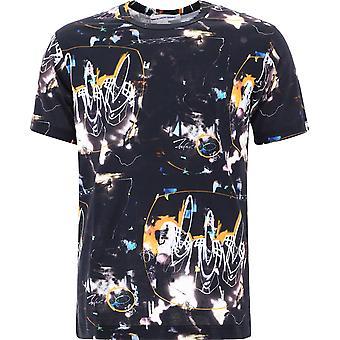 Comme Des Garçons Shirt W28105 Men's Zwart Katoen T-shirt