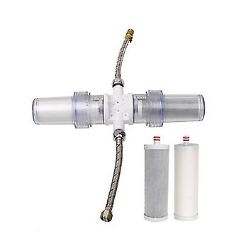 2 Way Body- Dual Filter, Integeral Water Purification System