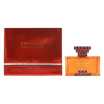 Judith Leiber Exotic Coral Eau de Parfum 40ml Spray For Her