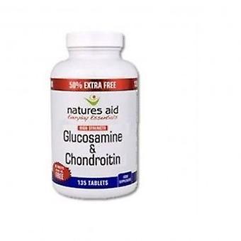 Natures Aid - Glucosamine 500mg & Chondroitin 400mg 90 tablet