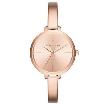 Michael Kors MK3547 Jaryn Rose kultasävyinen kolmikätinen rannekoru Naiset's Watch