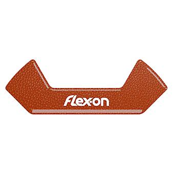 Flex On Safe On Magnet Stickers - Leather Brown