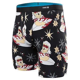 Stance Surfin Santa Boxer Brief - Noir
