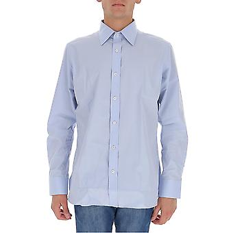 Tom Ford Qft01294vabyg Men's Light Blue Cotton Shirt
