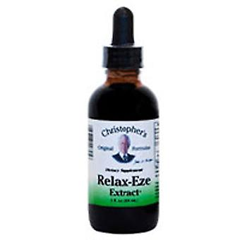 Dr. Christophers Formulas Relax-Eze Extract, 2 OZ