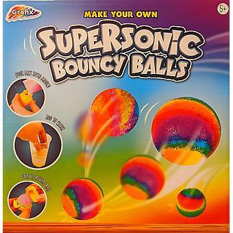 Grafix machen Sie Ihre eigenen Supersonic Bouncy Bälle Set