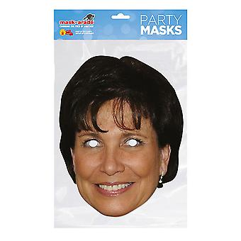 Mask-arade Anne Sinclair Celebrities Party Face Mask