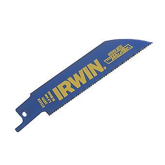 IRWIN 418R 100mm Sabre Saw Blade Metal Cutting Pack de 5 IRW10504148