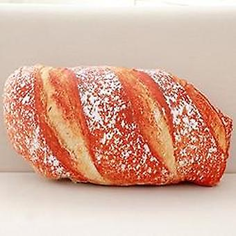Langt smør brød / kjøtt floss / sesam pizza / biff puter mat plysj