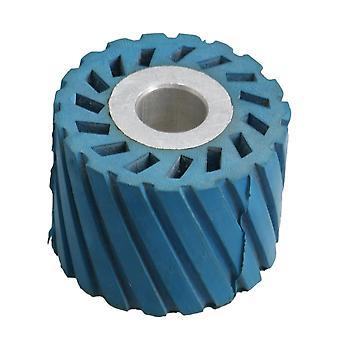 1.8cm indre dia belte kvern gummi hjul tann overflate hjul 61x18x47mm
