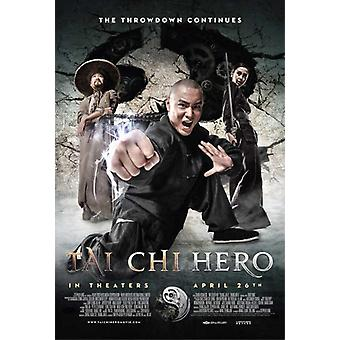 Tai Chi sankari elokuvajuliste (11 x 17)