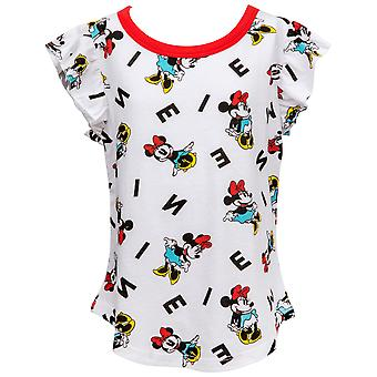 Minnie Mouse Disney Personaje All Over Kids Camiseta