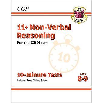 Nye 11 + CEM 10-minutters tests: ikke-verbal ræsonnement-aldre 8-9 (med online udgave)
