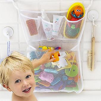 Baby Toy Mesh Bag, Bathtub, Doll Organizer Suction Bathroom Bath Toy, Stuff