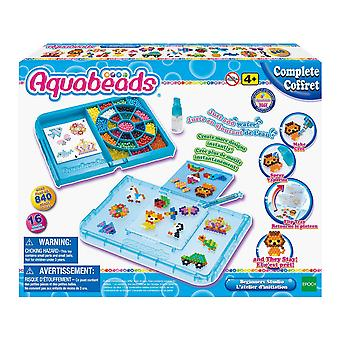 Aquabeads 32788 studio incepatori cu tava flip, diverse aquabeads incepator & rsquo;s studio, meserii pentru copii,