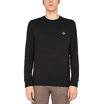 Ma.strum Mas8353m000 Men's Black Cotton Sweater