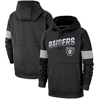 Oakland Raiders Performance Pullover Hoodie Sweatshirt  WY180
