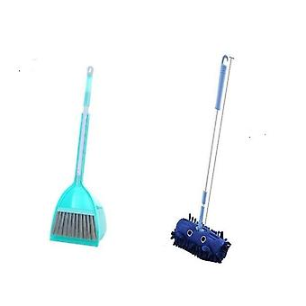 Cute Cartoon Pattern Mini Mop,  Broom And Dustpan Set-cleaning Tool