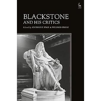 Blackstone and His Critics by Anthony Page - 9781509910458 Book