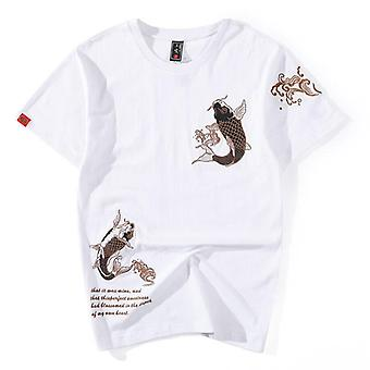 New Popular Brand Short Sleeve Hip Hop T-shirt Chinese Style Lovers